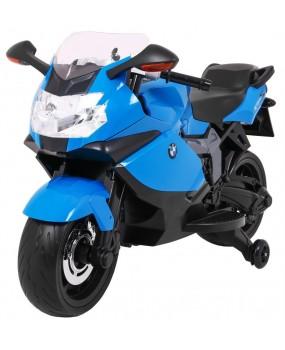 Elektrická motorka BMW K1300S modrá